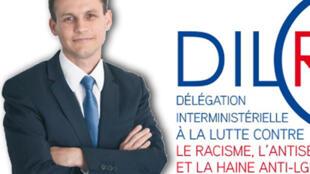 Frédéric Potier, délégué interministériel à la lutte contre le racisme, l'antisémitisme et la haine anti-LGBT (DILCRAH).
