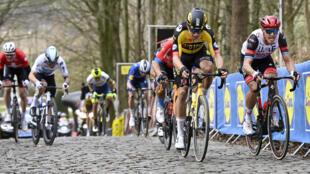 Belgian Van Aert beats Italian Trentin to the line