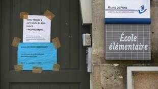 El regreso a la escuela empezará en Francia el 11 de mayo y se hará en función de la voluntad de los padres de los alumnos.