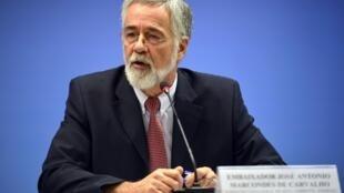 O embaixador José Antônio Marcondes de Carvalho, subsecretário-geral de Meio Ambiente, Energia e Ciência e Tecnologia no Ministério das Relações Exteriores e negociador brasileiro para mudança do clima.