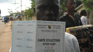 La carte d'électeur d'un Camerounais.