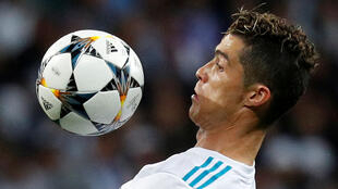 Champions League Semi Final Second Leg - Real Madrid v Bayern Munich - Santiago Bernabeu, Madrid, Spain - May 1, 2018 Real Madrid's Cristiano Ronaldo in action.