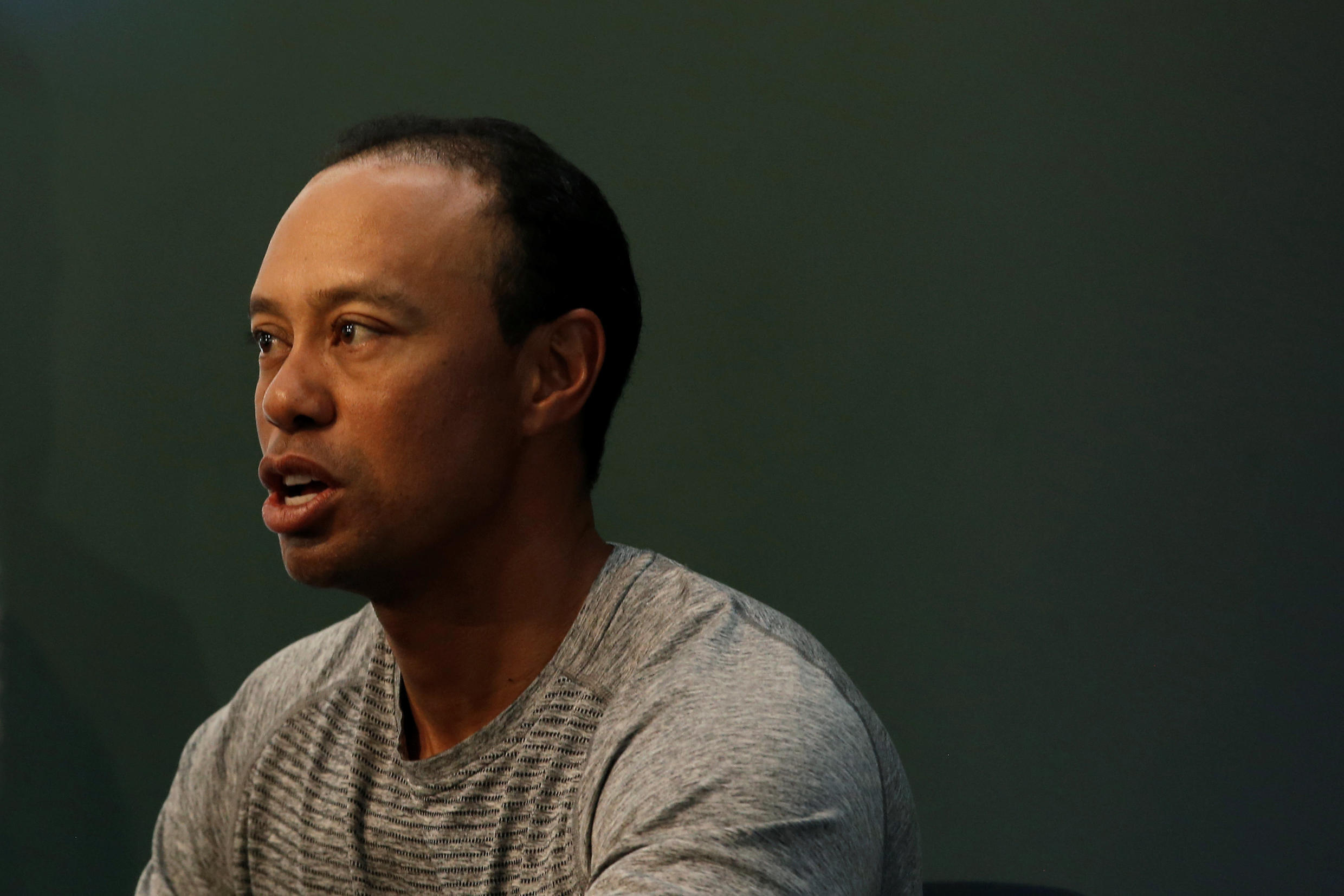 Tiger Woods, who has won 14 major titles, has ruled himself out of the first major event of the year.