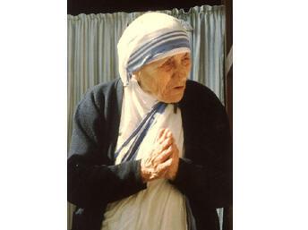 Mère Teresa, en 1988.
