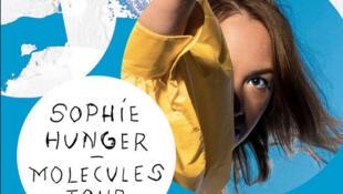 Une affiche de Sophie Hunger avec son nouvel Album « Molécules ».