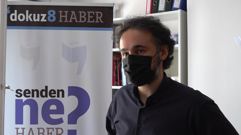 Gokhan Bicici, editor-in-chief of news portal Dokuz8haber.