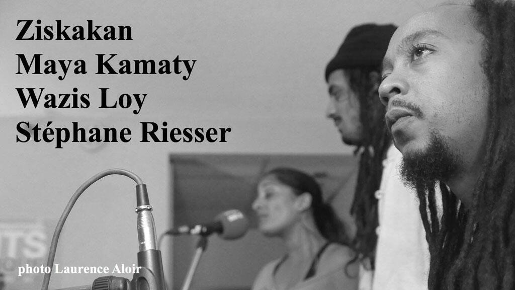 Ziskakan : Stéphane Riesser, Wazis Loy et Maya Kamaty à Montréal.