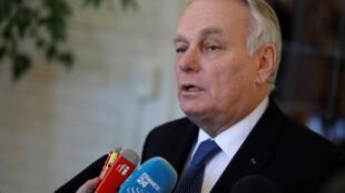Le ministre des Affairs étrangères français, Jean-Marc Ayrault, le 22 mars 2017 (photo d'illustration).