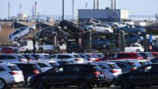 L'usine Vauxhall d'Ellesmere Port, dans le Cheshire, au Royaume-Uni, produit des voitures Opel pour le compte de PSA.
