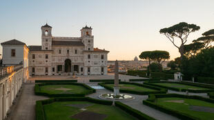 Italie - Villa Médicis - Académie de France à Rome - Villa Médicis - Carrefour de l'Europe