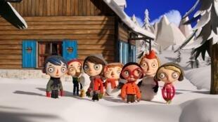 法国瑞士合拍动画片《我的西葫芦生活》剧照。