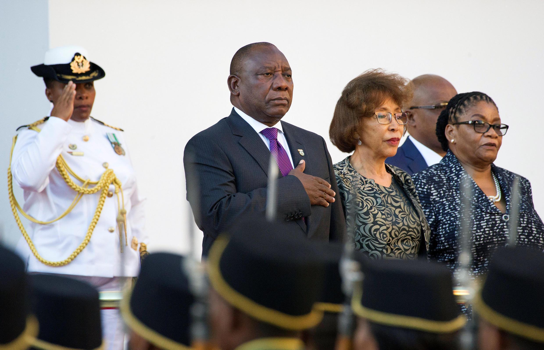 Rais wa Afrika kusini Cyril Ramaphosa.