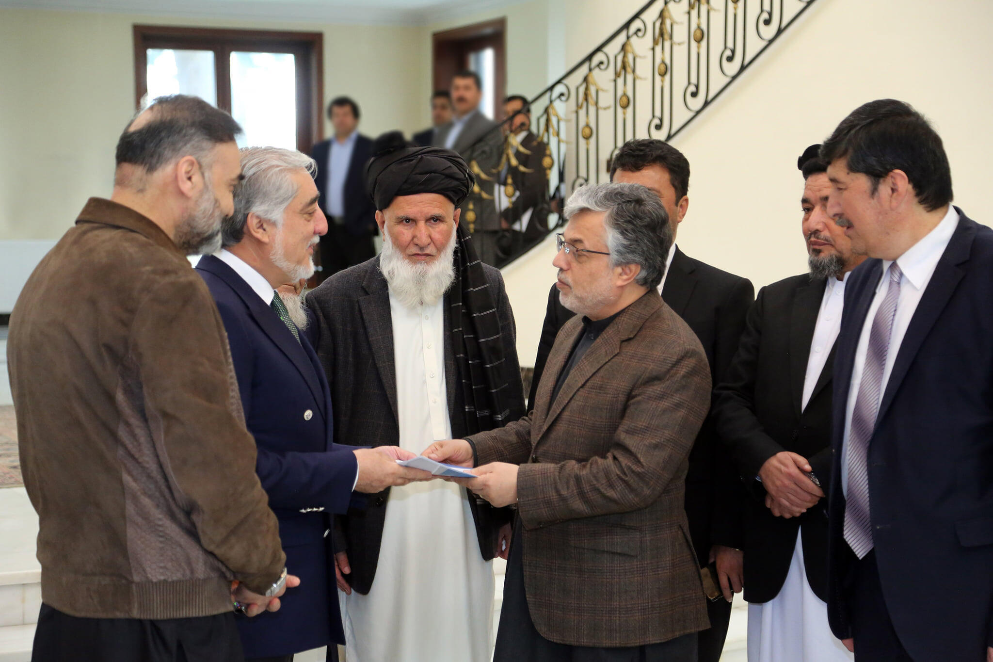 Afghanistan Abdallah et Qanouni