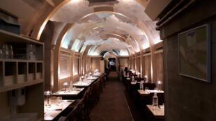 Refettorio Paris, juste avant le service.
