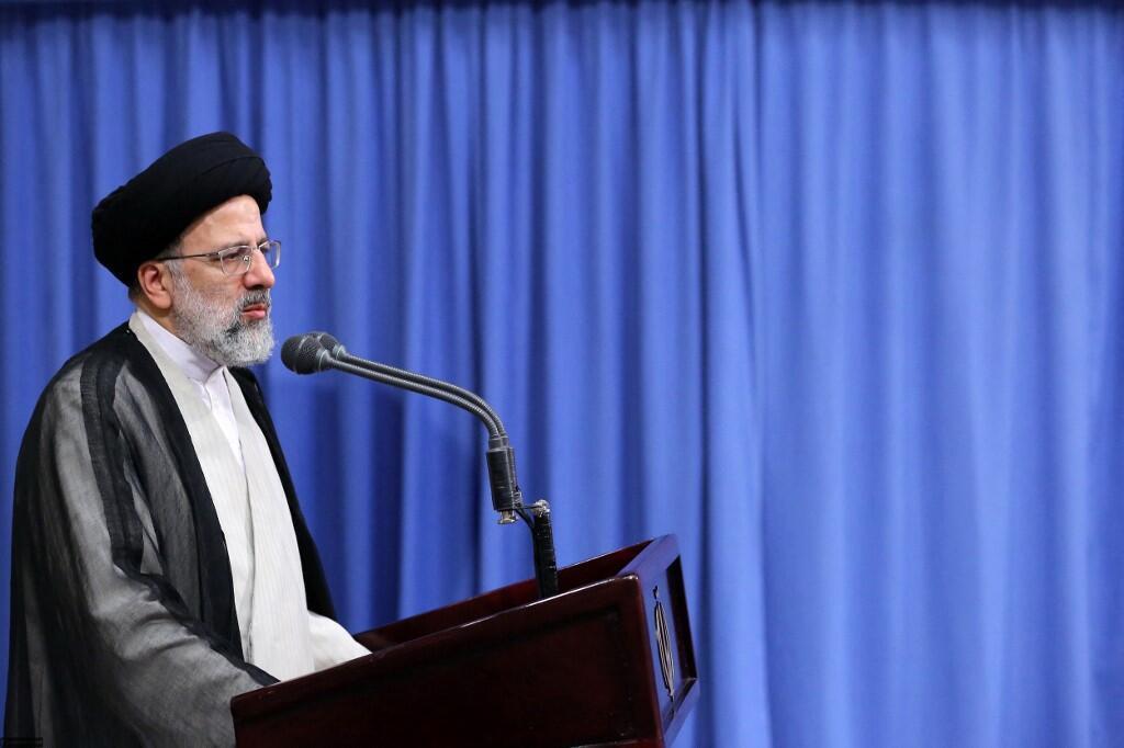 L'ayatollah Ebrahim Raissi a eu des propos très fermes à l'égard des Occidentaux dans sa première conférence de presse.