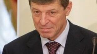 Dmitri Kozac, vice-primeiro-ministro e encarregado dos Jogos Olímpicos de Inverno, na Rússia.