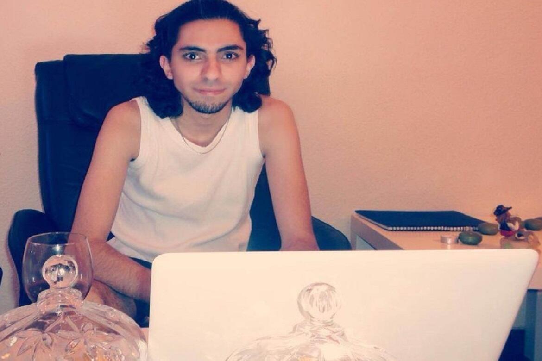 O blogueiro saudita Raif Badawi, preso em 2008 depois de criticar os religiosos da Arábia Saudita.