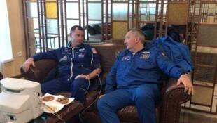No momento do incidente, Nick Hague e Alexey Ovchinin viajavam a cerca de 7,563 km/h, segundo a NASA