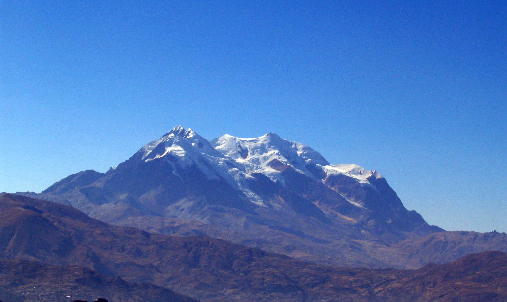 O Illimani, Bolívia