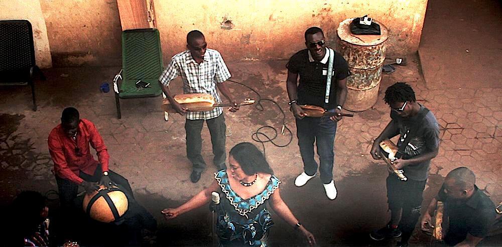 Bassekou Kouyaté et son groupe Ngoni Ba.