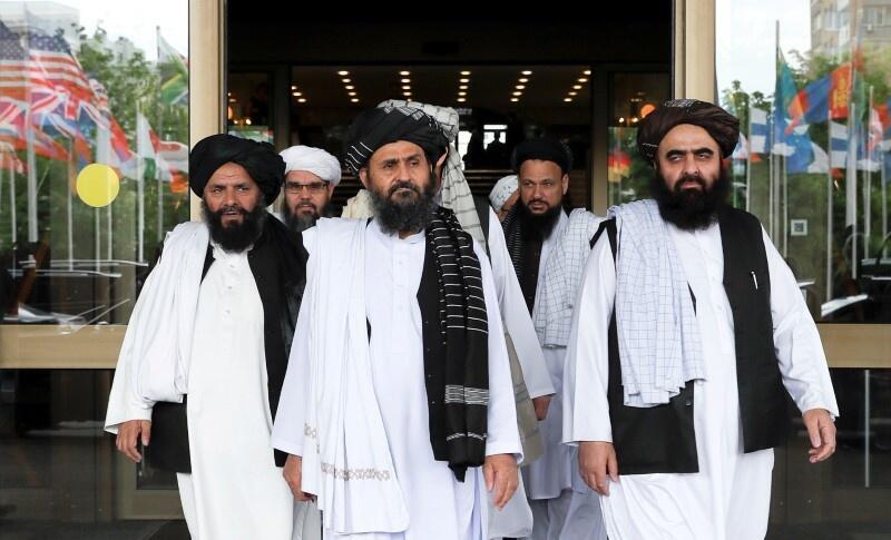 گروهی از نمایندگان طالبان افغانستان