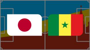 Coupe du monde 2018: Vivez Japon - Sénégal en direct