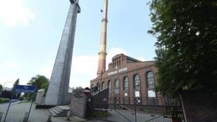 En Pologne, les mines de charbon sont de véritables foyers de contamination et beaucoup ont dû fermer. Ici, l'une d'elles, le 4 juillet 2020, dans la ville de Katowice en Silésie.