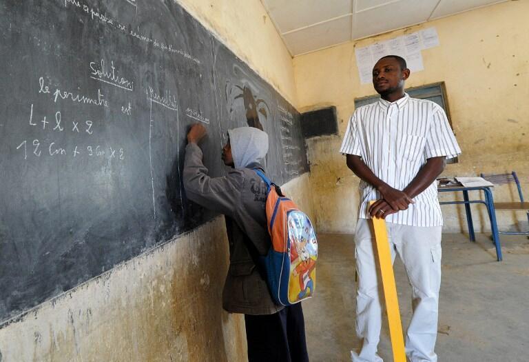 Une salle de classe à Gao dans le nord du Mali. (Illustration).