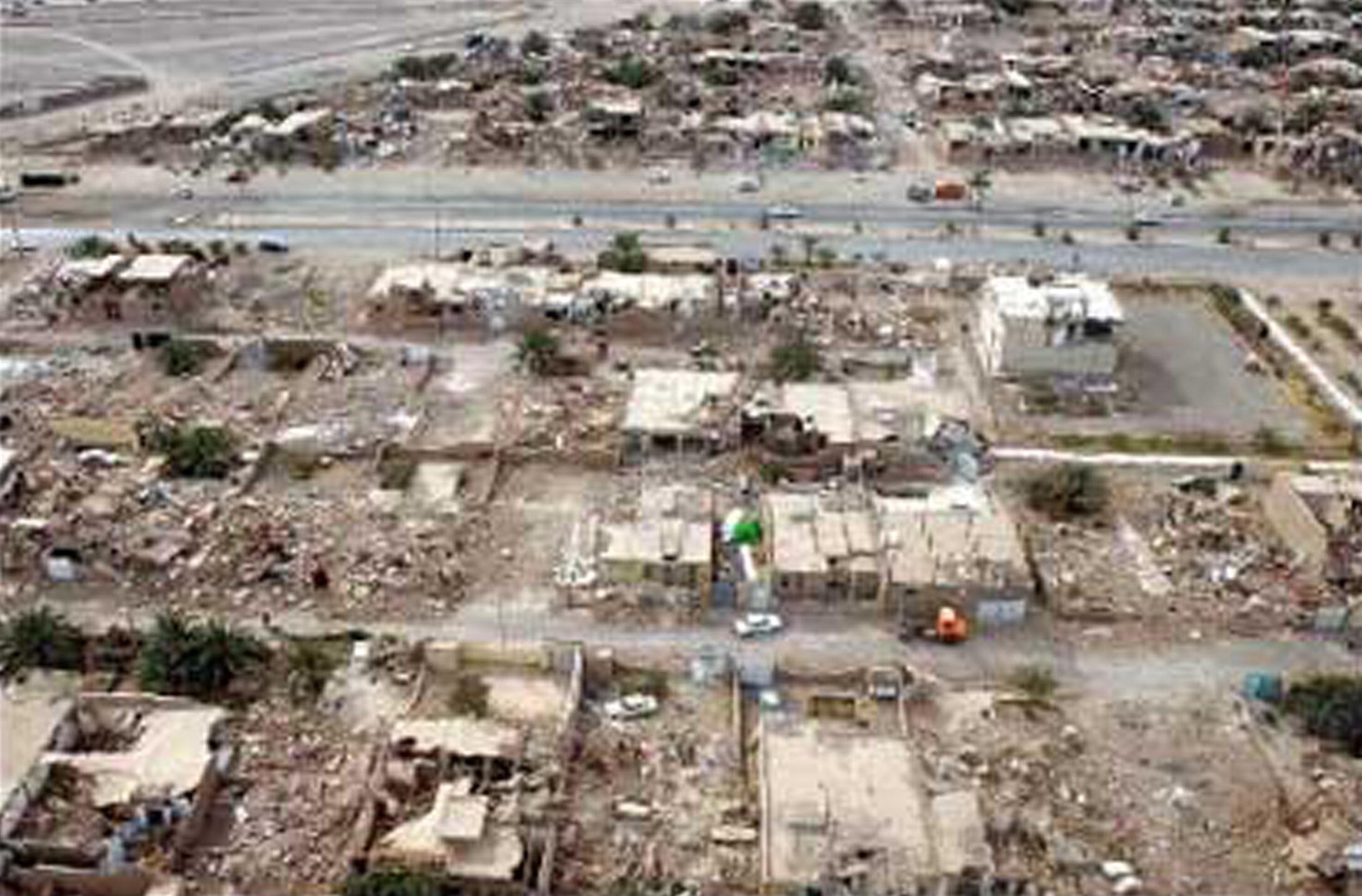 O terremoto de 6,1 na escala Ritcher destruiu casas da província de Bushehr, no sul do Irã, nesta terça-feira.