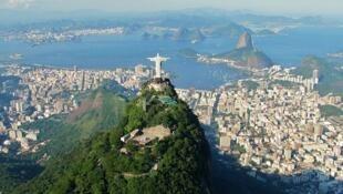 Une vue de Rio de Janeiro au Brésil.