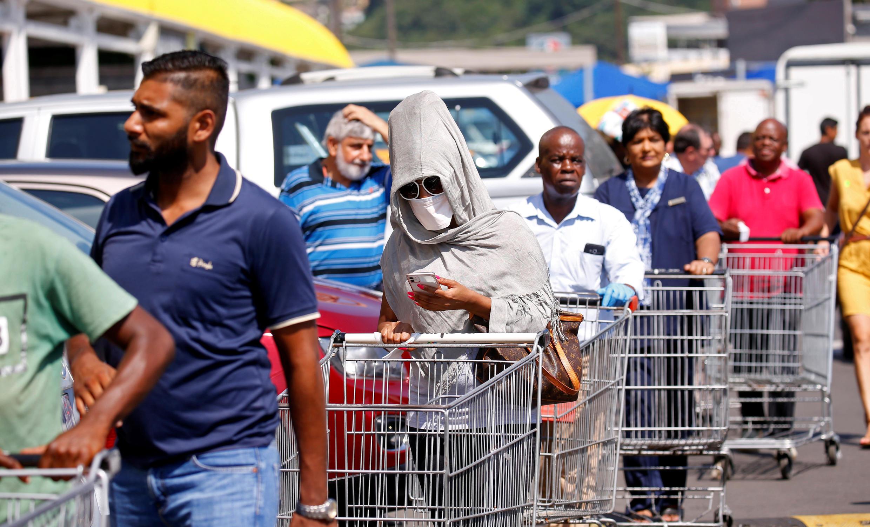 Shoppes in South Africa - Coronavirus