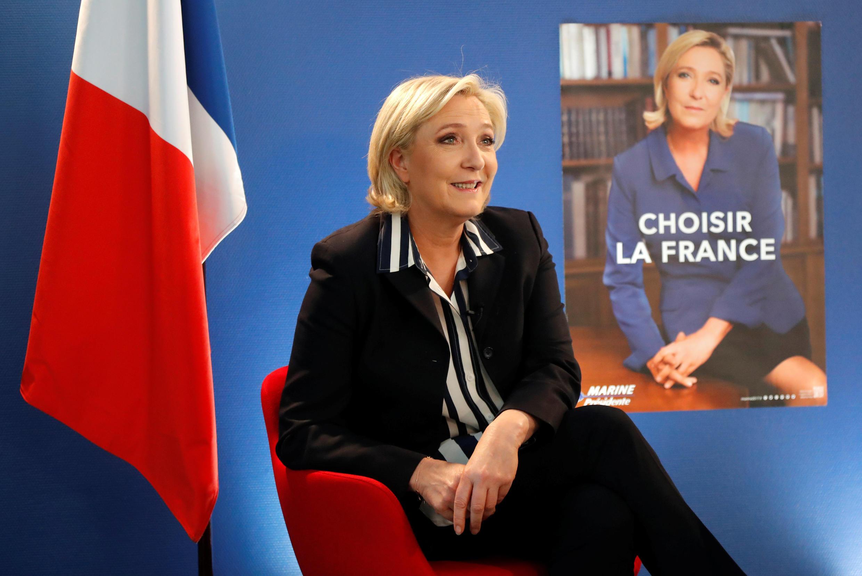 Mwanasiasa wa Ufaransa Marine Le Pen aliyegombea urais nchini Ufaransa