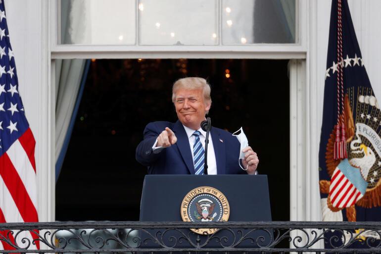Donald Trump de regresso à campanha eleitoral recuperado após ter sido testado positivo com Covid