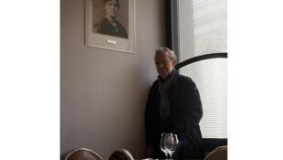 Ален Пассар в своем ресторане