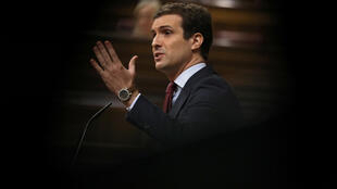 Lãnh đạo đảng Nhân Dân, Pablo Casado.