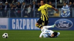 O meio-campista Mario Götze vai deixar o Borussia Dortmund, segundo notícia divulgada nesta terça-feira, 23 de abril de 2013.