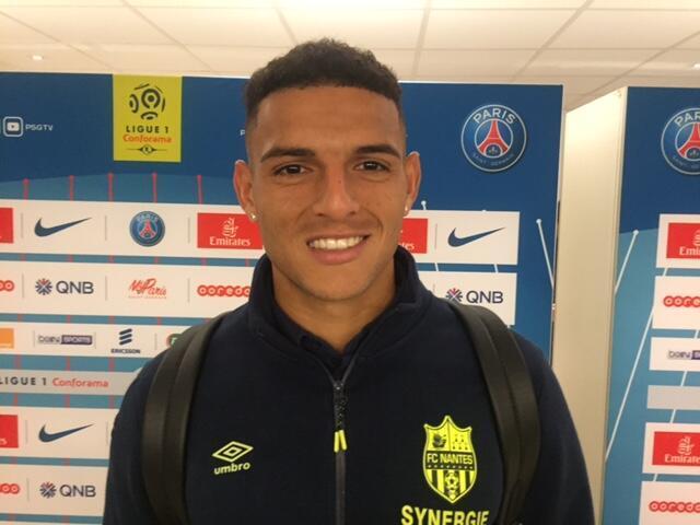 O zagueiro Diego Carlos é um dos titulares brasileiros do FC Nantes.