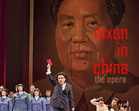 """Một cảnh trong vở opéra """" Nixon in China"""" của John Adams - Ảnh tư liệu."""