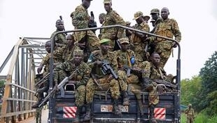 Dakarun kasar Uganda.