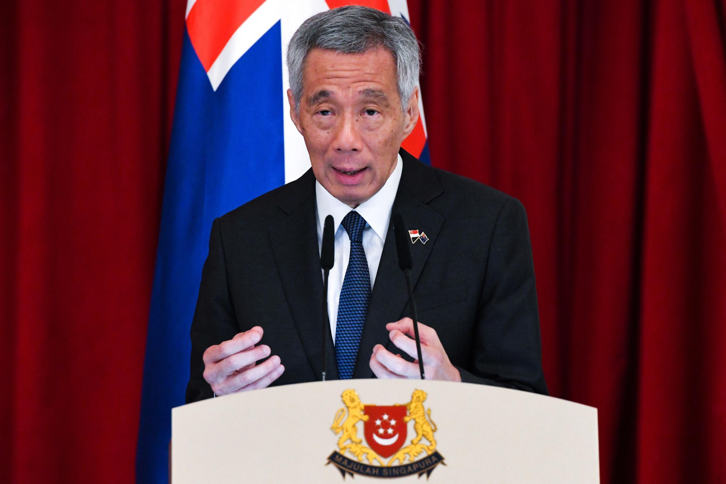 Singapore's Prime Minister Lee Hsien Loong has described the city-state as a 'safe harbour' amid political instability elsewhere