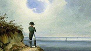 """""""Наполеон на острове Святой Елены"""" картина Франсуа-Жозефа Сандманна"""