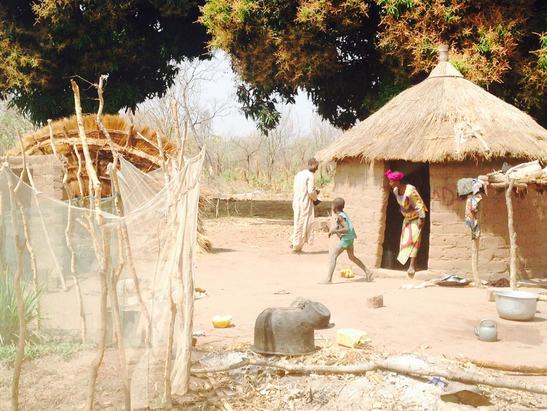 La ville de Kaga-Bandoro en Centrafrique.