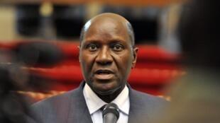 O primeiro-ministro demissionário da Costa do Marfim, Daniel Kablan Duncan