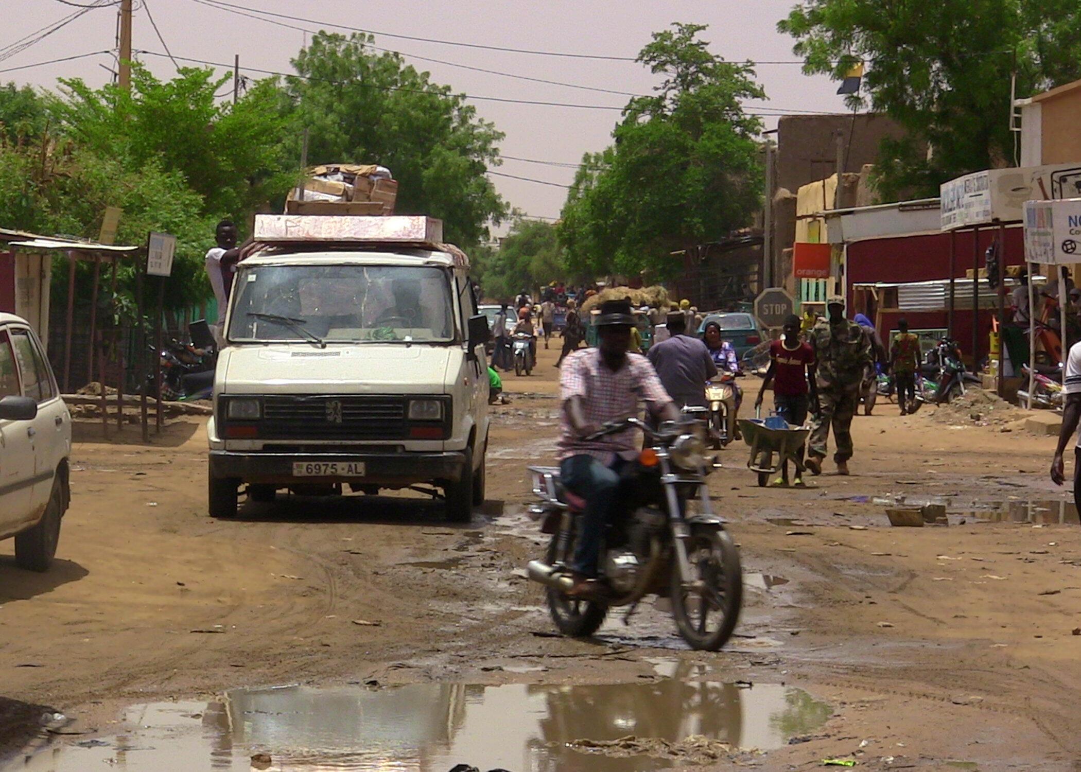 Une rue de la ville Gao, dans le nord du Mali, le 22 juillet 2016.