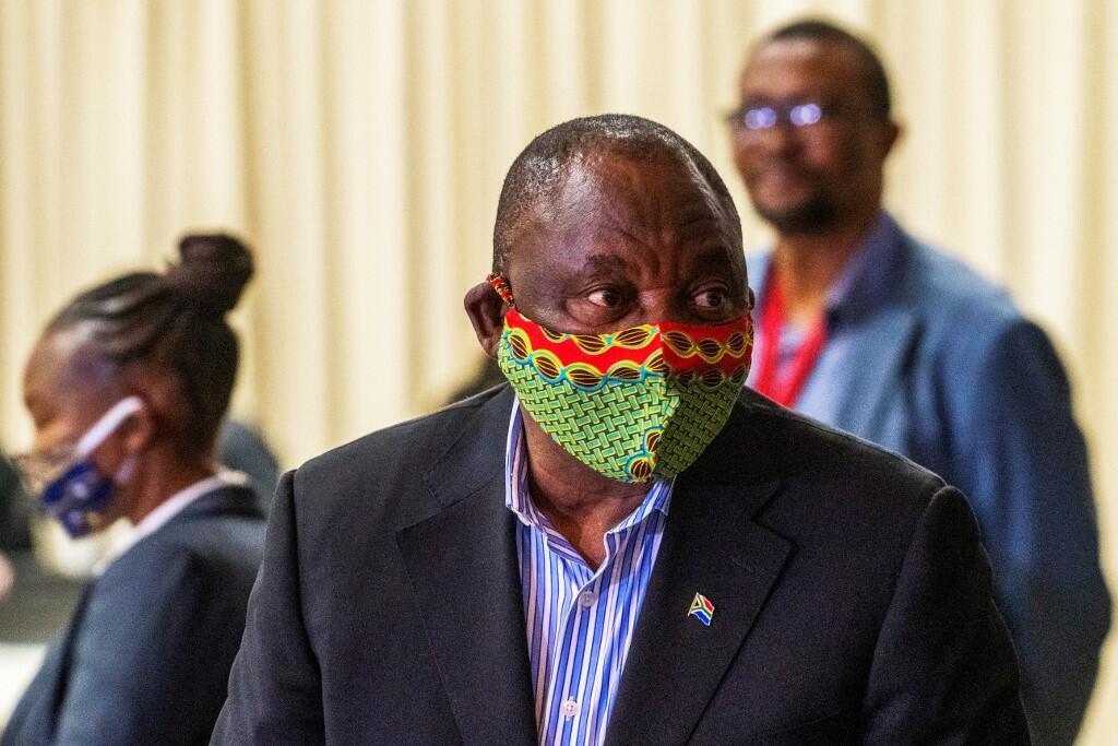 Rais wa Afrika Kusini Cyril Ramaphosa