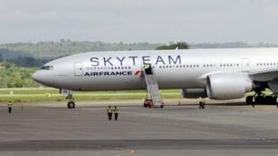 Le Boeign 777 d'Air France est parti de l'île Maurice avant d'être dérouté sur l'aéroport de Mombasa au Kenya.