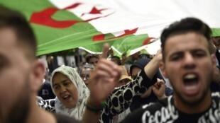 Manifestations à Alger, le 14 juin 2019.