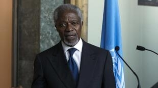 Kofi Annan, en mars 2012.