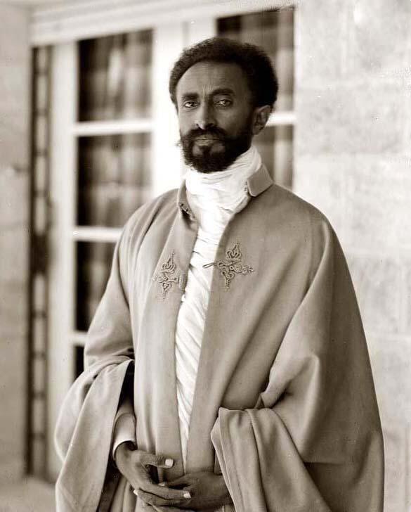 Hailé Sélassié 1er, le Négus d'Ethiopie.
