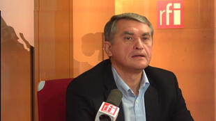 Oleg Shamshur, embaixadir ucraniano na França e representante permanente da Ucrânia na Unesco.
